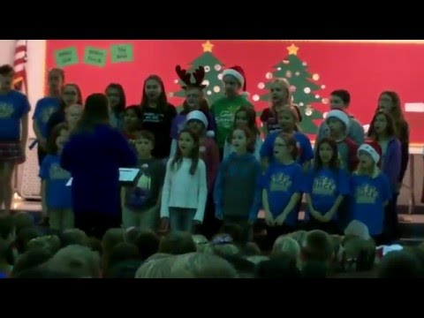 Emge Elementary School Choir - Max Placencia - 12-17-15