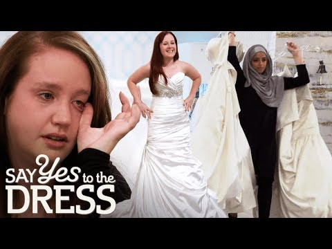 Mother and Bride Disagree Completely About Wedding Dress! | Say Yes To The Dress Canada