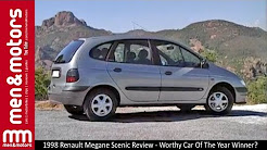 1998 Renault Megane Scenic Review - Worthy Car Of The Year Winner?