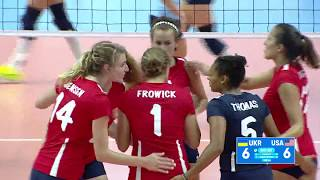 Ukraine v USA - Bronze Medal Match Women Volleyball
