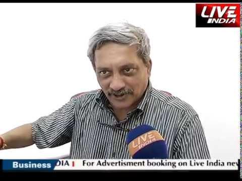 Goa Manohar Parrikar Interview  Somdutt Sharma
