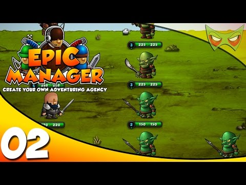 Epic Manager Gameplay / Epic Manager Let's Play - Ep 02 - #1 In The 1st Trimester!