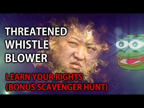 Whistleblower teaches rights (GONE WRONG – fake wiretapping charge)