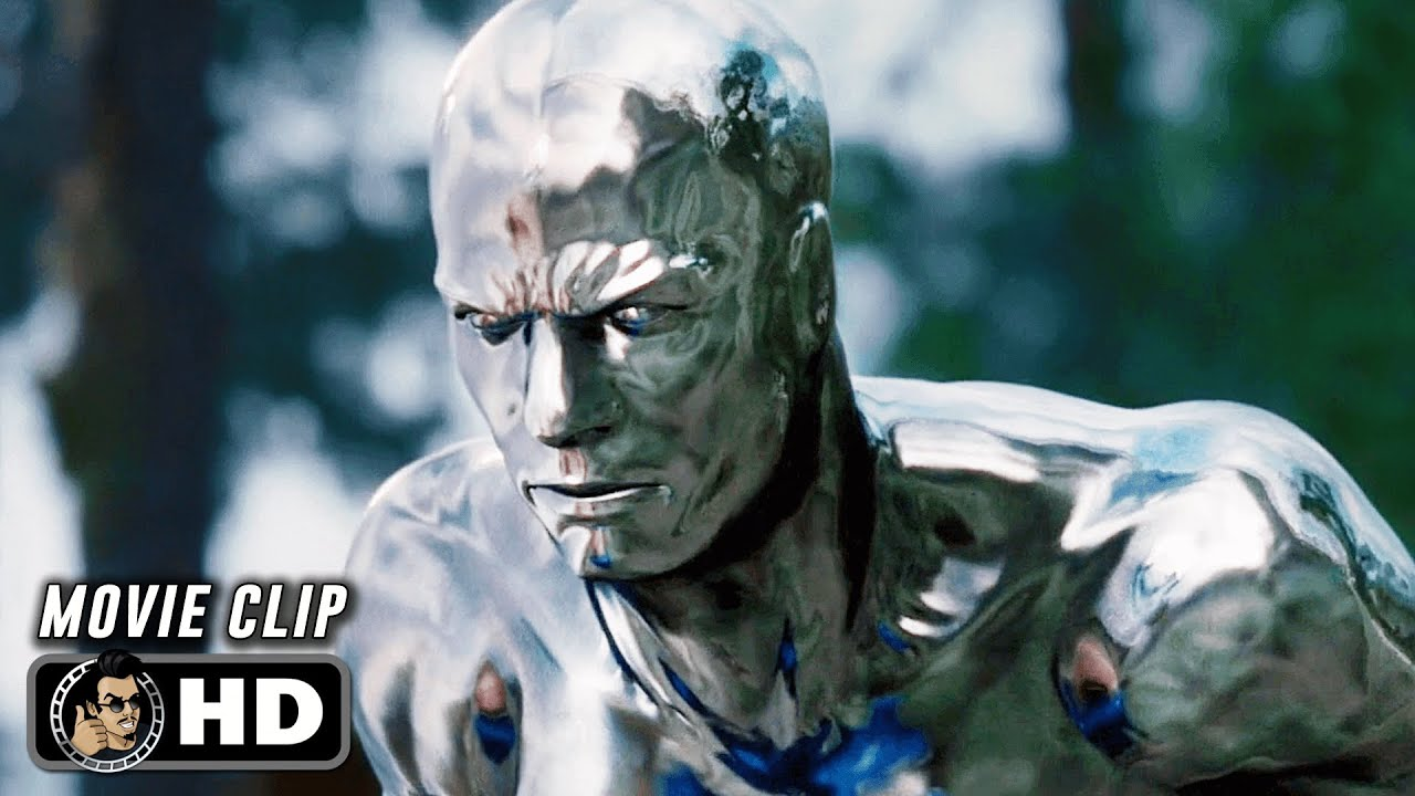 "Download FANTASTIC 4: RISE OF THE SILVER SURFER Clip - ""The Silver Surfer vs. US Army"" (2007)"