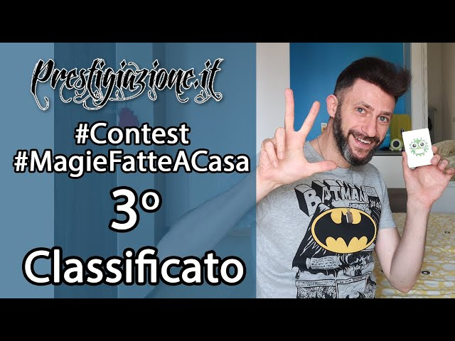 3^Classificato al Contest #MagieFatteACasa