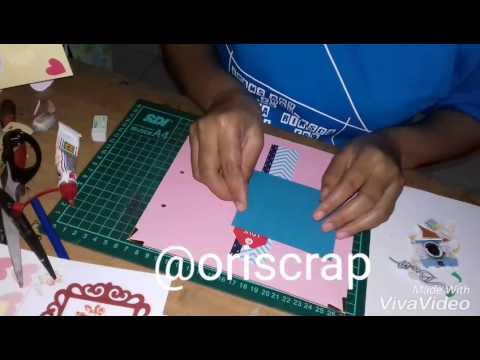 Cara membuat scrapbook