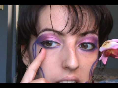 easy pink  purple fairy makeup look  youtube
