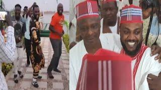 Celebration din Adam A Zango na samun nasarar Abba GidaGida
