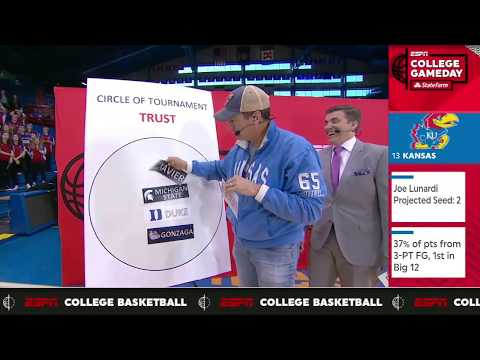 Rob Riggle s love for the Kansas Jayhawks  College GameDay  ESPN
