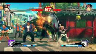 Street Fighter 4 Arcade Edition: Juri vs Fei Long PC Gameplay