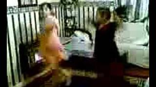 sabah and diba dancing to san san Thumbnail