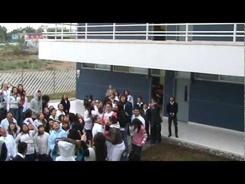 Campus Guadalupe - Lanzando los globos por la PAZ