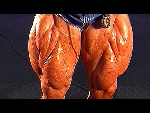 QUADZILLA IN THE GYM - GET YOUR LEGS BIGGER -  LEG DAY MOTIVATION