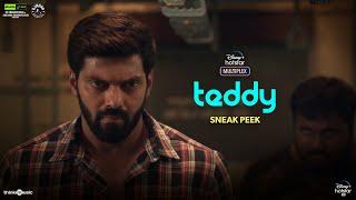 Teddy 🧸   Teddy Sneak Peek   Shakti Soundar Rajan   Arya, Sayyeshaa   D. Imman   Now Streaming
