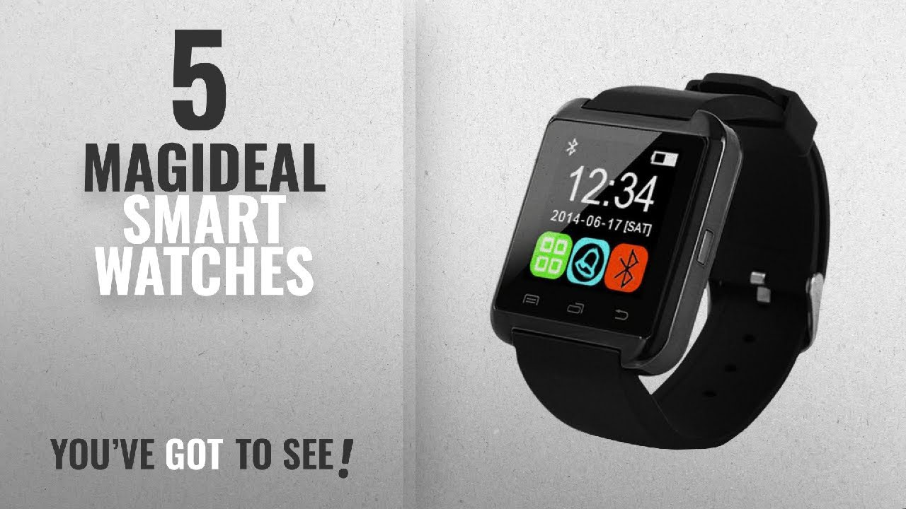 e4ad9d938 Top 5 MagiDeal Smart Watches  2018 Best Sellers   MagiDeal Bluetooth Smart  Watch for Android