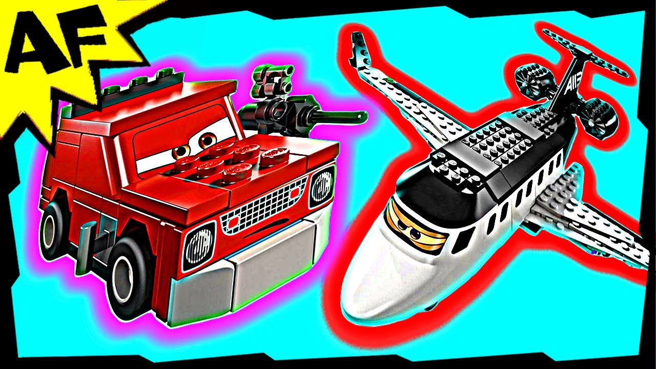 Lego Cars 2 Spy Jet Escape Set 8638 Animated Building Review Youtube