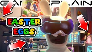 All the NINTENDO SECRETS in Mario + Rabbids: Kingdom Battle's Opening Cutscene (Easter Eggs!)
