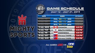 JULY 15: 41st William Jones Cup: Mighty Sports - Go for Gold Philippines vs Canada