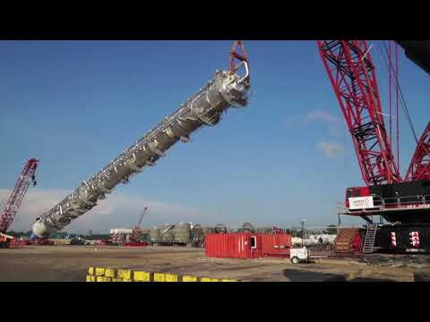 CC 8800 makes largest vessel lift on Louisiana project