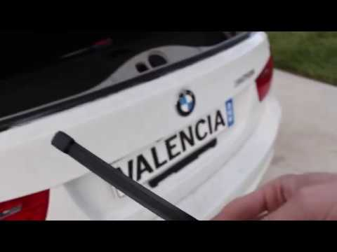 E91 Bmw Rear Wiper Blade Diy Youtube