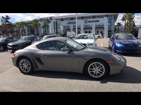 2007 Porsche Cayman Orlando, Deltona, Sanford, Oviedo, Winter Park, FL CL841194A