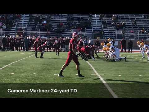 Scoring Plays From Muskegon's 49-10 Regional Victory Over East Grand Rapids