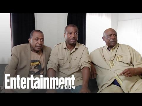 Roots: Ben Vereen, LeVar Burton & Louis Gossett Jr. Reunite  Entertainment Weekly