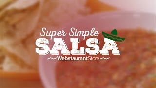 Super Simple Salsa! A Quick And Easy Recipe.