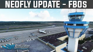 Huge Neofly Addition - FBOs | Microsoft Flight Simulator