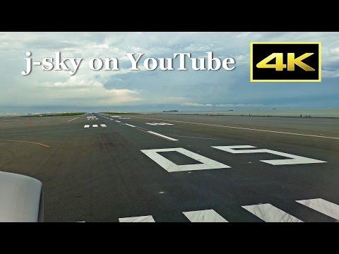 [4K] Full Flight ANA Boeing 787-8 from Tokyo Haneda to Osaka Itami  (Left Side Seat)