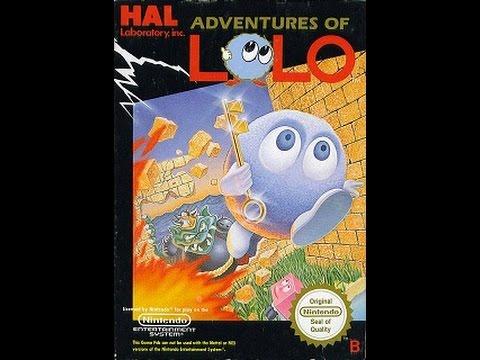 Adventures of Lolo [NES Nintendo Dandy] (1988) прохождение / Walkthrough / Playthrough