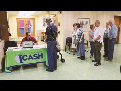 Illinois State Treasurer Michael Frerichs: I-Cash Event In Springfield, IL.