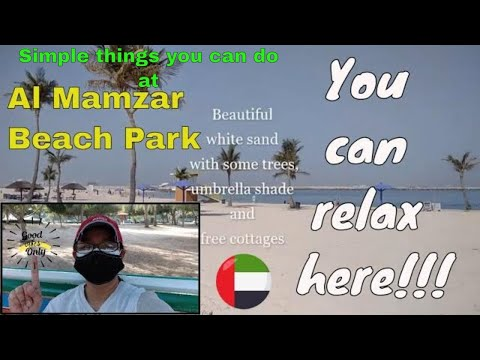 Al Mamzar: Beach Park@DubaiUAE    Peaceful and relaxing    other simple things you can do