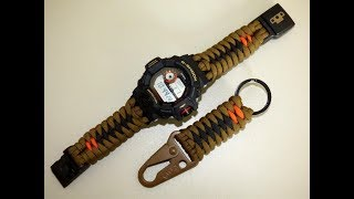 G Shock GW-9400 with paracord band from base550 clip by TheDoktor210884