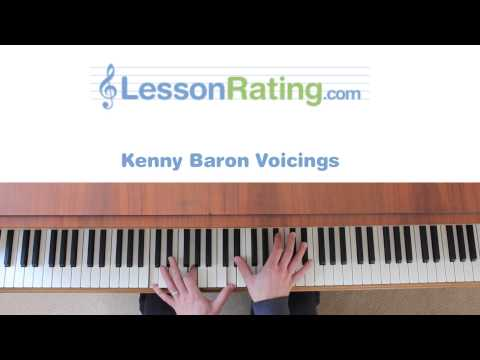 Kenny Barron Piano Voicings - Jazz Piano
