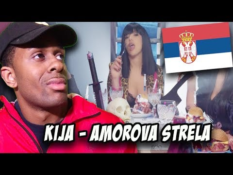 BALKAN MUSIC REACTION | KIJA - AMOROVA STRELA (OFFICIAL VIDEO 2019)