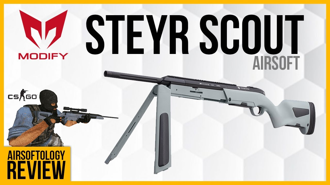 The Steyr Scout Review - Modify outdid themselves again.