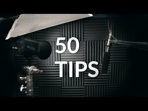 50 Tips for Filmmakers