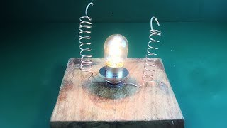 Electric Wireless Free Energy Using Speaker Magnet 2019 | New Technology Project Simple  100%