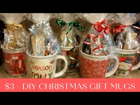 DIY Christmas Gift Mugs For $3
