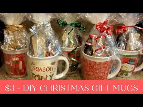 DIY Christmas gift mugs for $3