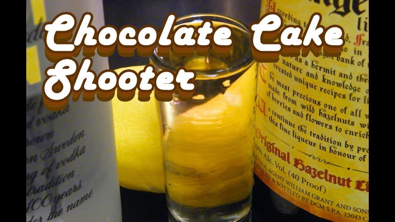 Chocolate Cake Shooter Recipe theFNDCcom YouTube