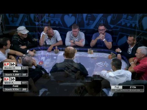 WPT National WarmUp 2015 - Livestream Coverage