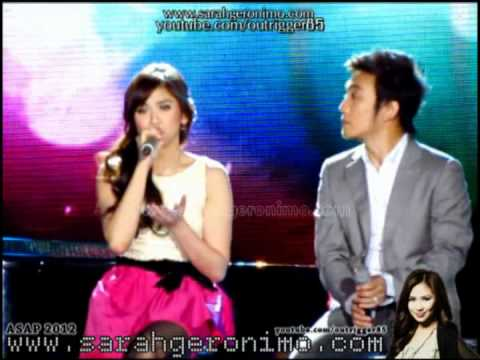 Sarah Geronimo & Arnel Pineda - No Way To Treat A Heart [Martin Nievera's 50th Bday Prod] (05Feb12)