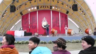 【草笠劇場】日本鬼太鼓座名聞國際的日本鬼太鼓座從2月8日到14日每天下...