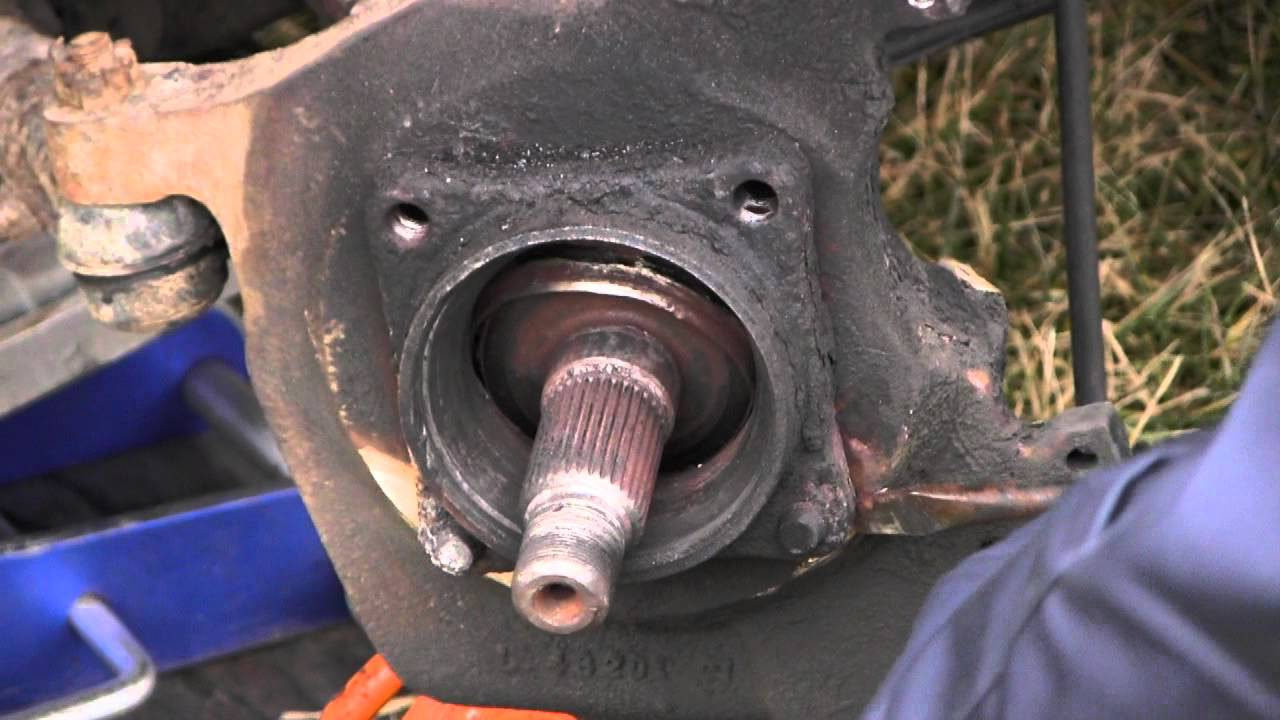 Dodge Ram Front Wheel Bearing Failure And Replacement Part
