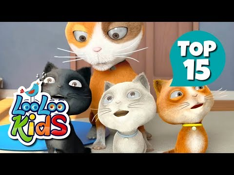 Three Little Kittens - TOP 15 Songs for Kids on YouTube