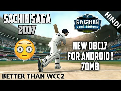 OMG! Download SACHIN SAGA Cricket Champions 2k17 Game For Android BETTER THAN WCC2 Hindi - 동영상