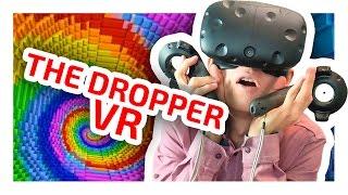 THE DROPPER В ВИРТУАЛЬНОЙ РЕАЛЬНОСТИ - MINECRAFT VR - ЧАСТЬ 2