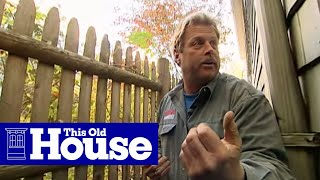 How to Grade Around a Foundation - This Old House